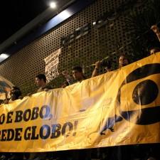 Globo em protestos