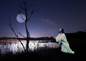 jesus e a lua