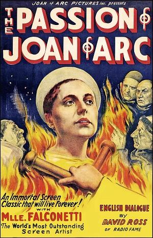 O martírio da película: a Paixão de Joana d'Arc