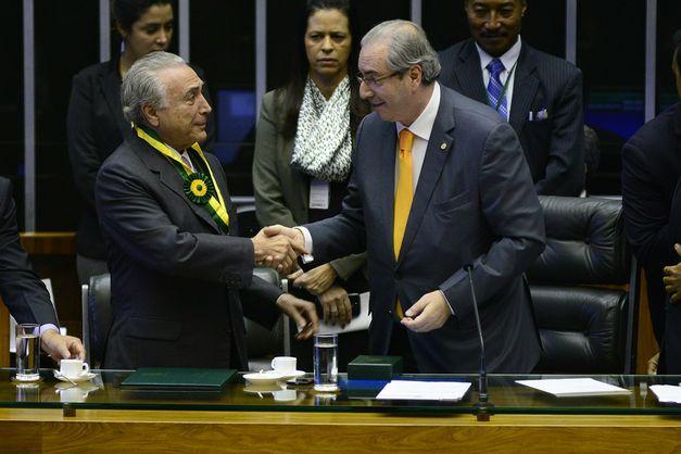 Temer Presidente, Cunha Vice: o Brasil na Latrina.
