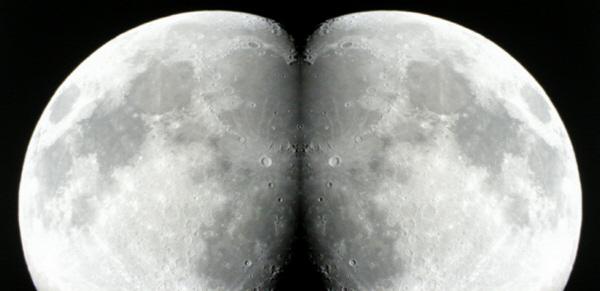 Bumbum virado pra Lua!
