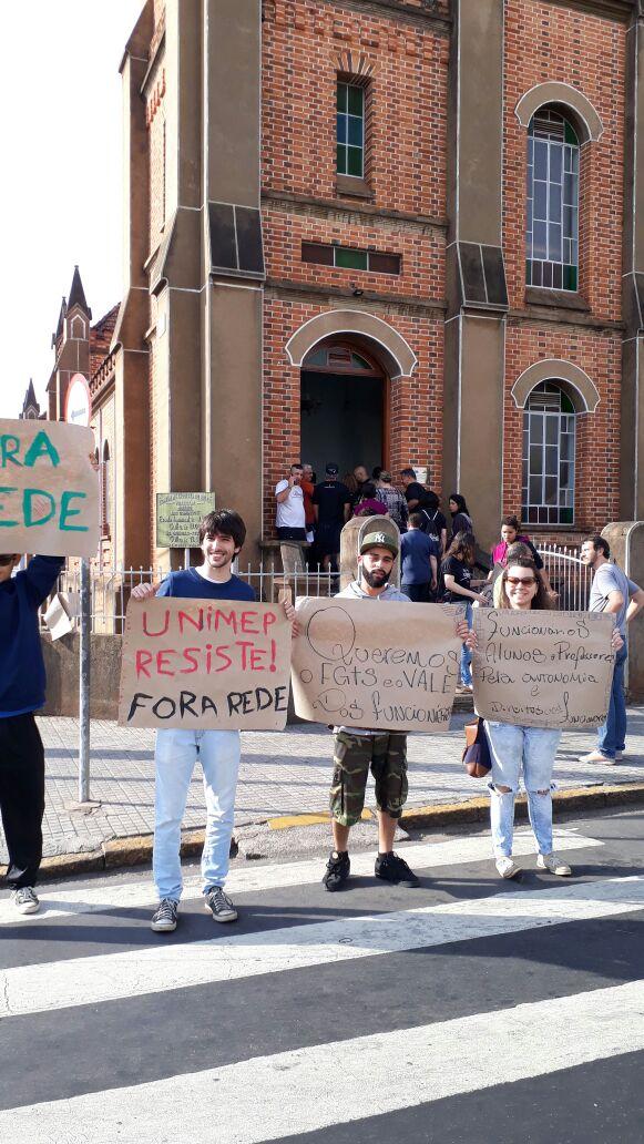 Unimep: mobilização chegou à Igreja Metodista Central