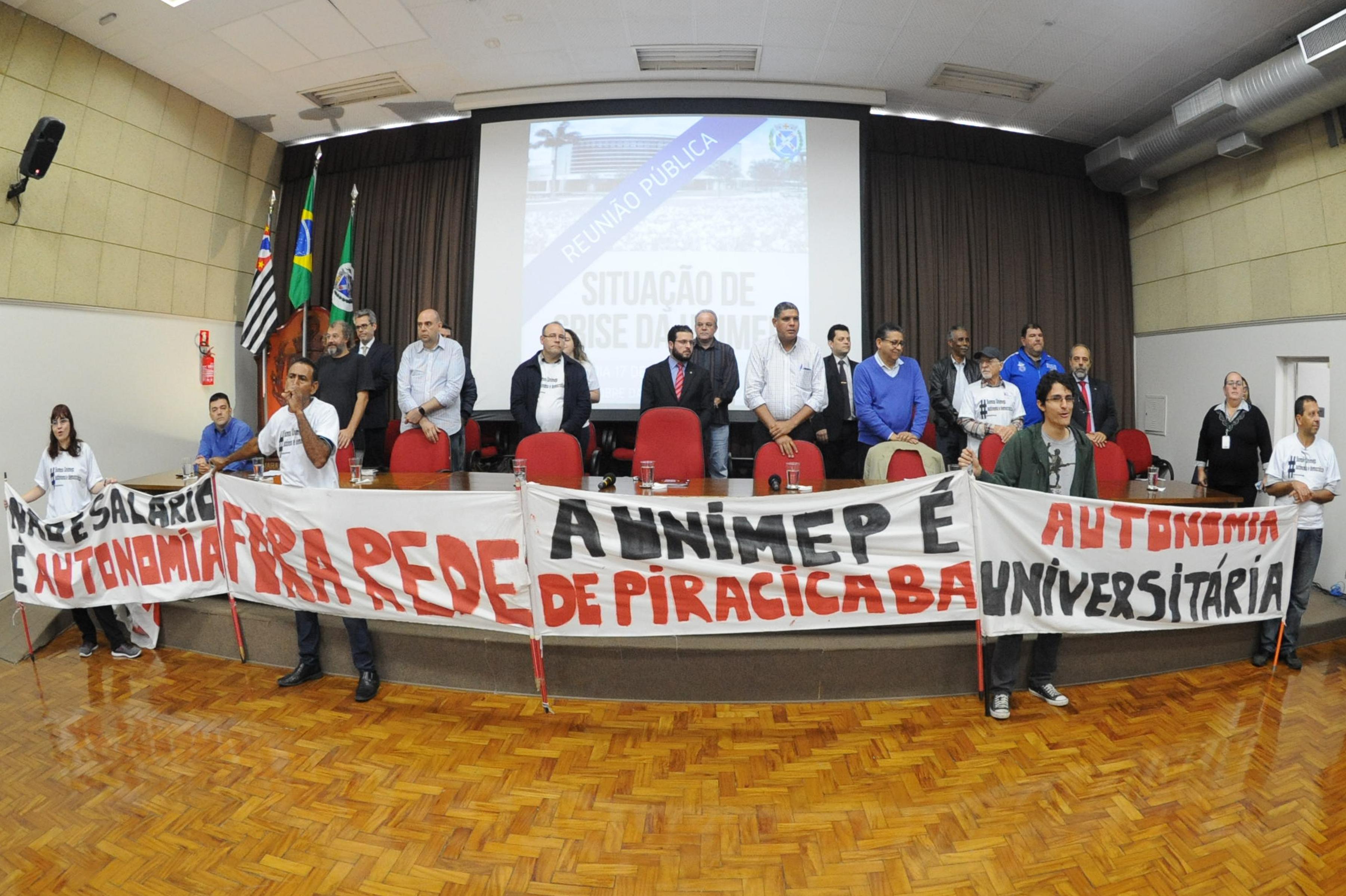 Unimep em luta – confira resumo da reunião aberta na Câmara dos Vereadores.