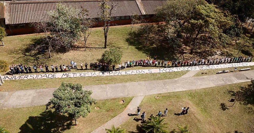 Aulas públicas e atividades coletivas marcam mobilização na UNIMEP