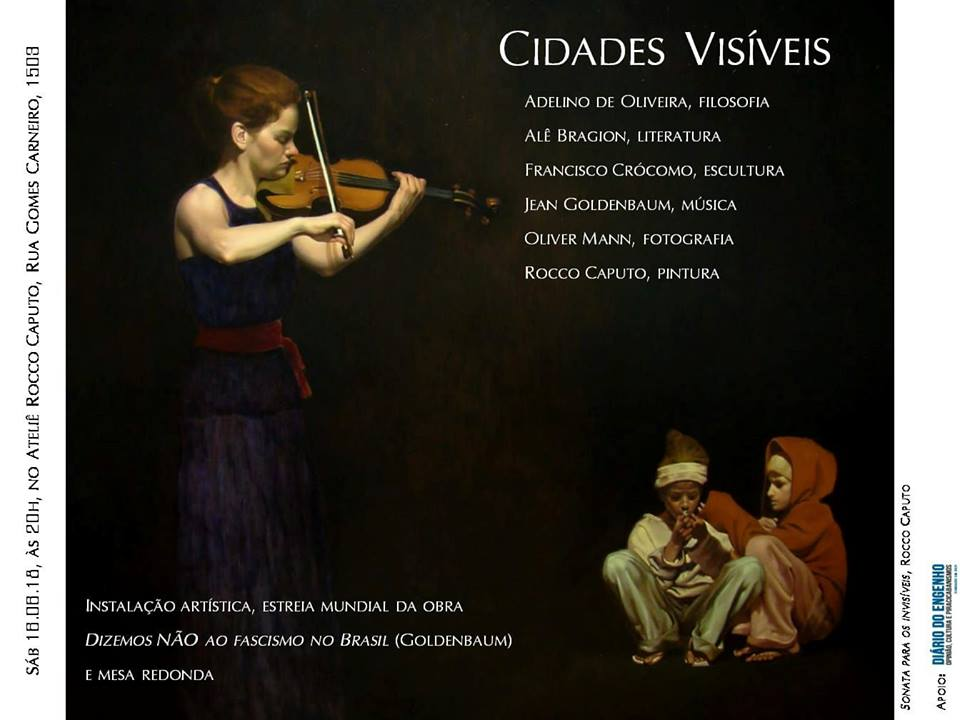 """""""Cidades Visíveis"""" reúne artes e artistas!"""