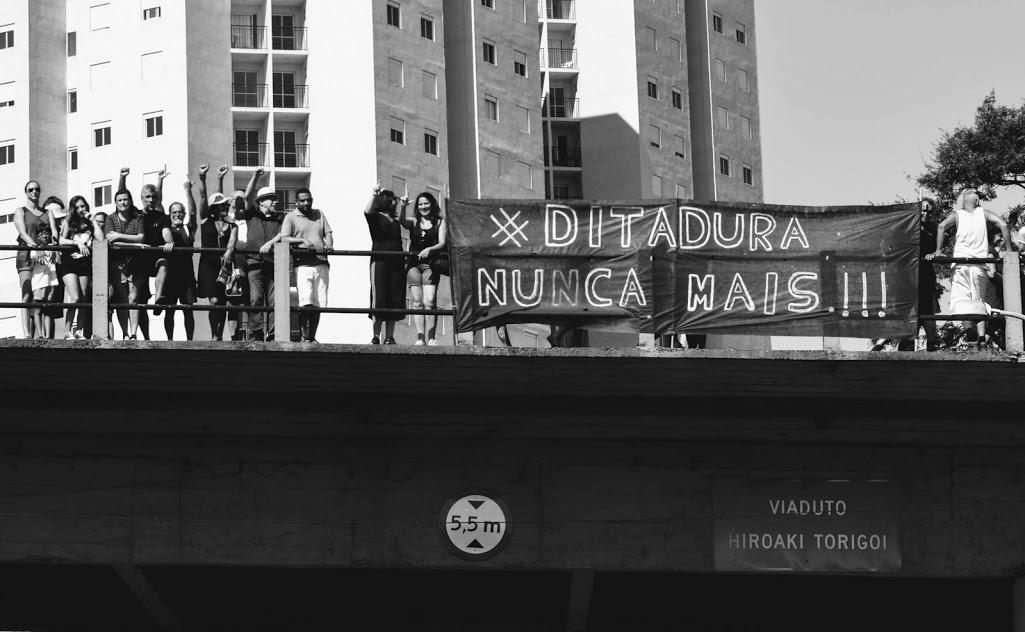 Cidade do interior tem movimento contra celebração do Golpe de 64