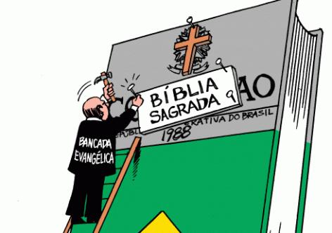 Os perigos do Brasil se transformar num estado teocrático.  Ou: Sobre a necessidade de entendermos o conservadorismo da sociedade brasileira.
