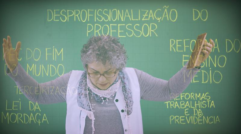 O Ofício do Professor e a Cidadania Política.